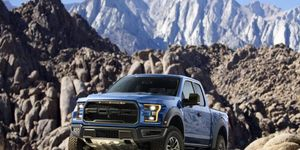 The Raptor gets 450 hp from an EcoBoost V6.
