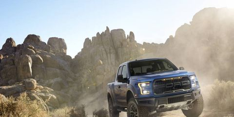 The 2017 Ford Raptor goes on sale this fall.