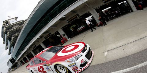 Kyle Larson will be sporting new colors next season as Target has decided to end its relationship with Chip Ganassi Racing.