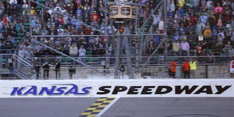 With the win, Martin Truex Jr. swept both races at Kansas this season.