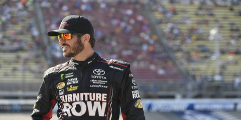 Martin Truex Jr. will have the chance to clinch the NASCAR Cup Series regular season championship on Saturday night at Bristol.