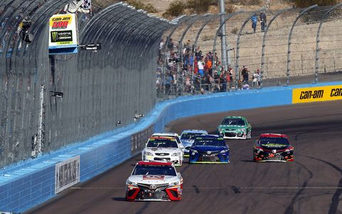 Sights from the NASCAR action at Phoenix Raceway, Sunday, Nov. 12, 2017