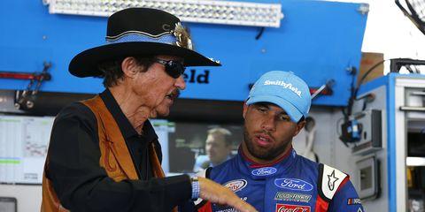 Bubba Wallace will race full time next season for Richard Petty Motorsports.