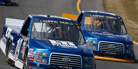 Austin Cindric is driving No. 19 Ford F-150 for Brad Keselowski Racing in the NASCAR Camping World Truck Series.
