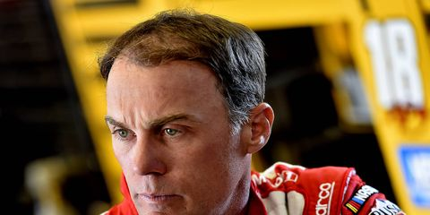 Kevin Harvick celebrated in victory lane at Sonoma Raceway following his NASCAR K&N Pro Series West win Saturday.