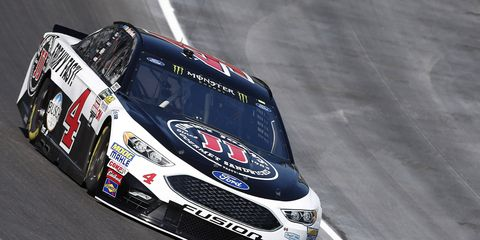 Kevin Harvick became the second Monster Energy NASCAR Cup Series repeat 2017 pole winner Friday.