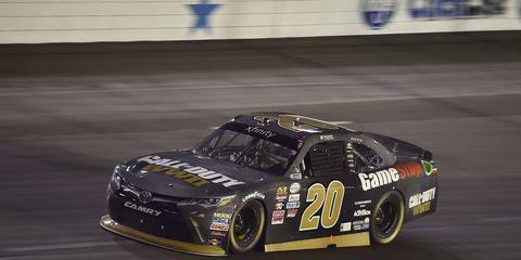 Erik Jones led 142 of 200 laps.