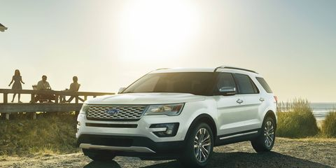 The Ford Explorer is one popular crossover SUV with cash on the hood right now.