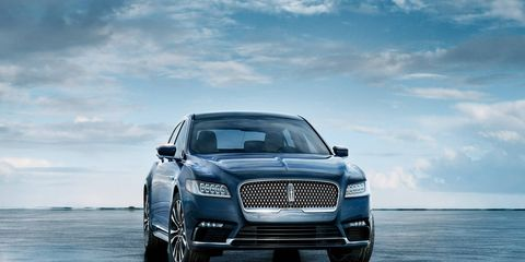 The 2017 Lincoln Continental is gorgeous inside and out, but those front seats are just too complicated.