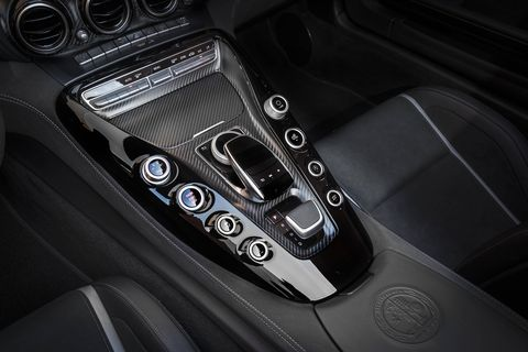 The AMG GT C Coupe comes with AMG ride control, which automatically adapts the damping on each wheel to the driving situation, speed and road conditions.