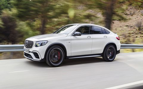 The GLC63 will also be available as a Coupe model, which will have an even sportier version with extra horsepower.