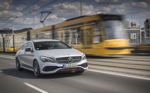 For the US-market wish list: The CLA250 Shooting Brake available overseas. Gorgeous