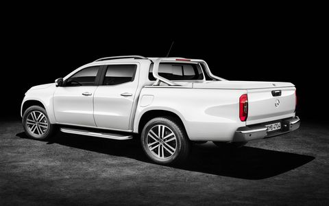 The X Class hopes to launch Mercedes Benz into the pickup market with the rugged reputation of their commercial line.