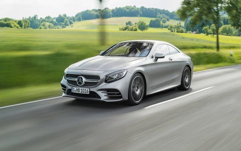 Inside and outside the 2018 Mercedes-Benz S560 Coupe and Cabriolet.