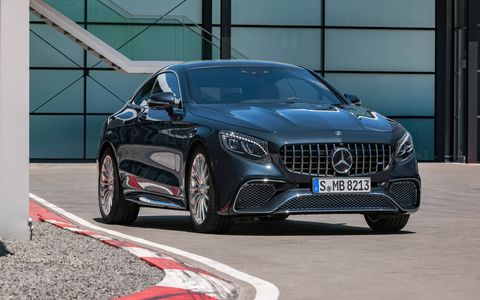 Inside and outside the 2018 Mercedes-AMG S65 Coupe and Cabriolet, which get fresh looks but retain their torquey 6.0-liter V12s.