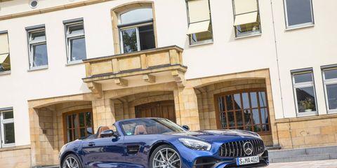 2017 Mercedes AMG GT Roadster Static
