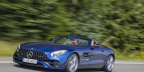 2017 Mercedes AMG GT Roadster