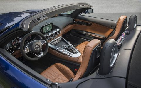 2017 Mercedes AMG Roadster Interior