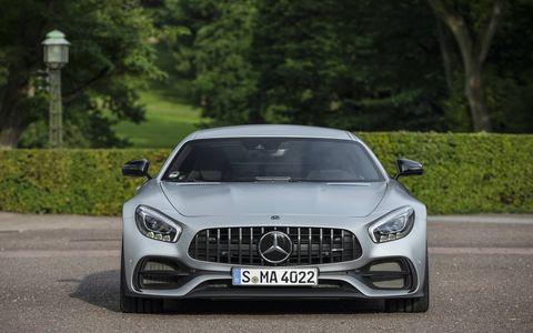 2017 Mercedes AMG GT S static
