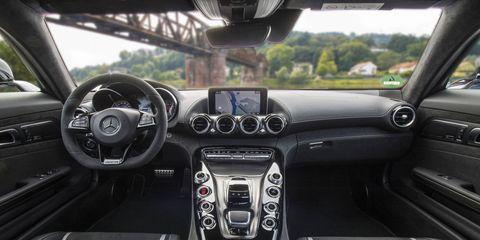 2017 Mercedes AMG GT S interior