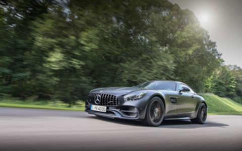 The new 2017 Mercedes AMG GT C Edition 50