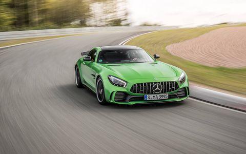 2017 Mercedes AMG GT R Track