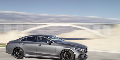 The 2019 Mercedes-Benz CLS comes with a new turbocharged I6 providing 362 hp as opposed to 329 in the previous model and 369 lb-ft of torque as opposed to 354 lb-ft.