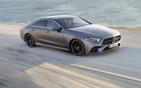 The 2019 Mercedes-Benz CLS comes with a new turbocharged I6 providing 362-hp as opposed to 329 in the previous model and 369 lb-ft of torque as opposed to 354 lb-ft.