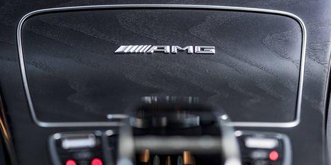 Inside the 2018 Mercedes AMG GLC63 SUV