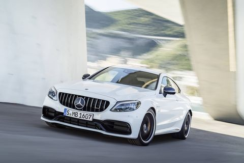 The 2019 Mercedes-AMG C63 and C63 S will make 469 hp and 503 hp, respectively, using the same 4.0-liter twin-turbo V8.