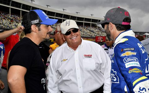 Sights from the Monster Energy NASCAR Cup Series Bank of America 500 at  Charlotte Motor Speedway, Sunday Oct. 8, 2017.