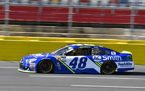 Sights from the NASCAR action at Charlotte Motor Speedway, Friday Oct. 6, 2017