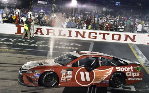 Sights from the NASCAR action at Darlington Raceway, Sunday, Sept. 3, 2017.