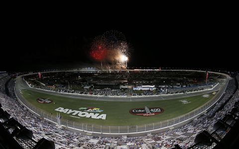 Sights from the action during the Monster Energy NASCAR Cup Series Coke Zero 400 at Daytona International Speedway, Saturday July 1, 2017.