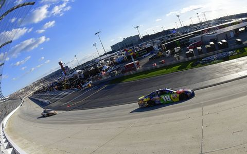 Sights from the NASCAR action at Dover International Speedway, Sunday Oct. 1, 2017