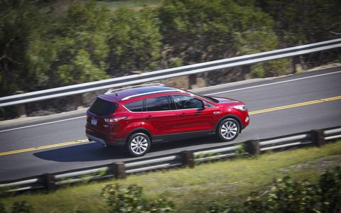 The 2017 Ford Escape will be available in three models: S, SE and Titanium.