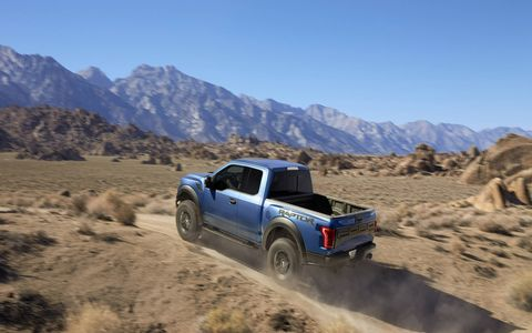 The 2017 Ford Raptor was unveiled on Monday in Detroit. The truck is expected to be available in late 2016.