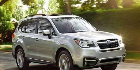 The tech-filled 2017 Subaru Forester rolls into showrooms this summer.