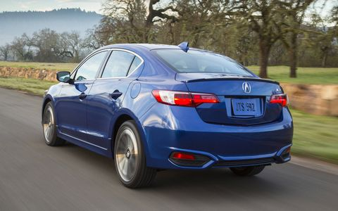 The A-Spec package adds 18-inch alloy wheels, fog lights, a rear spoiler and side sills.