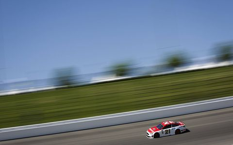 Sights from Friday's action at Kansas Speedway ahead of Saturday's Monster Energy NASCAR Cup Series Go Bowling 400.