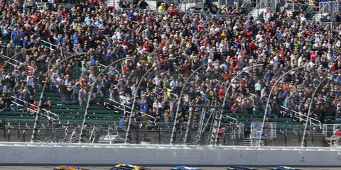 Sights from the Monster Energy NASCAR Cup race at Kansas Speedway, Sunday Oct. 22, 2017.