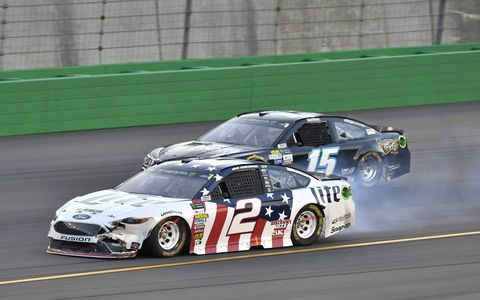 Sights from the Monster Energy NASCAR Cup Series Quaker State 400 at Kentucky Speedway, Saturday, July 8, 2017.