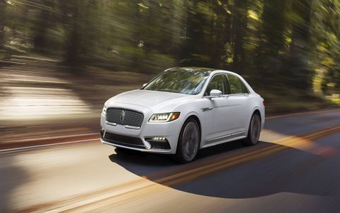 The 2017 Lincoln Continental made its world debut at the Detroit auto show. Powered by a 3.0-liter turbo V6 and packed with technology and luxury features, expect the flagship sedan to arrive in dealerships in fall 2016.