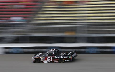 Sights from the NASCAR action at Michigan International Speedway, Friday August 11, 2017.