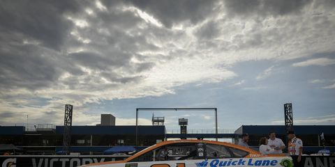 Sights from the Monster Energy NASCAR Cup Series at Michigan International Speedy, Friday, June 16, 2017.
