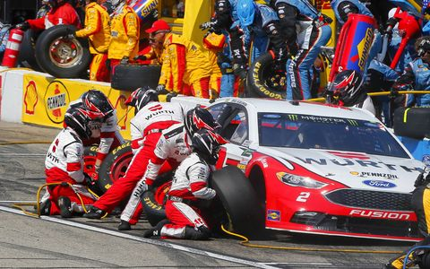 Sights from the Monster Energy NASCAR Cup Series race at New Hampshire Motor Speedway, Sunday, July 16, 2017.