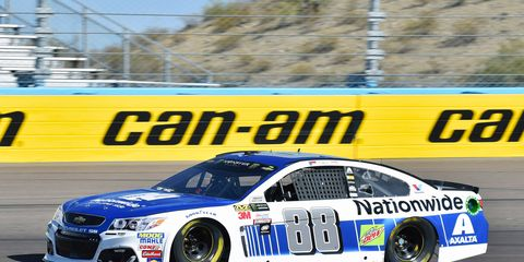 Sights from the Monster Energy NASCAR Cup action at Phoenix Raceway, Friday, Nov. 10, 2017.