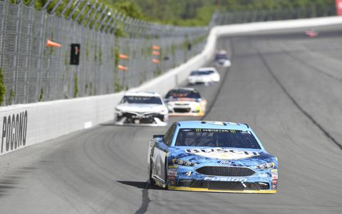 Sights from Sunday's Monster Energy NASCAR Cup Series race at Pocono Raceway, Sunday, June 11, 2017