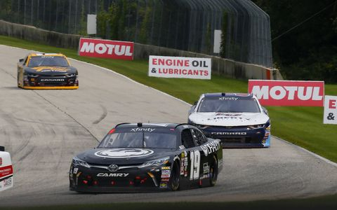 Sights from the NASCAR Xfinity Series action at Road America, Sunday, Aug. 27, 2017.