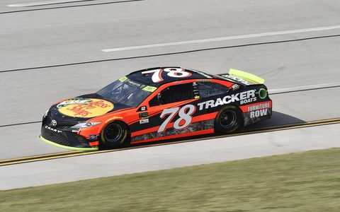 Sights from the NASCAR action at Talladetga Superspeedway, Friday, Oct. 13, 2017.